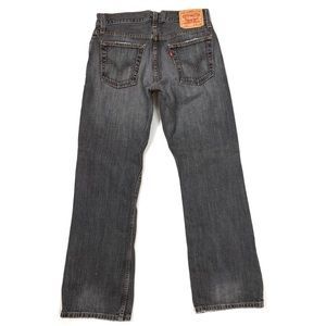 Levi's 527 Low Boot Cut Faded Work Jeans 30x30